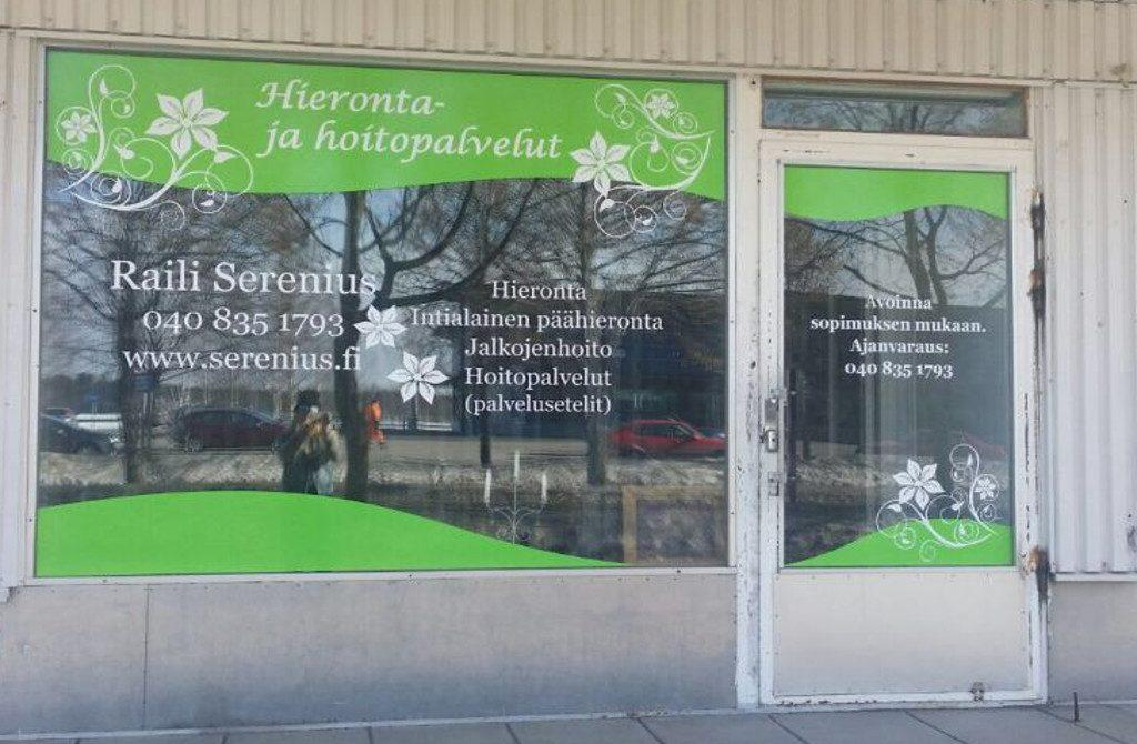 Салон массажа и ухода за телом Raili Serenius