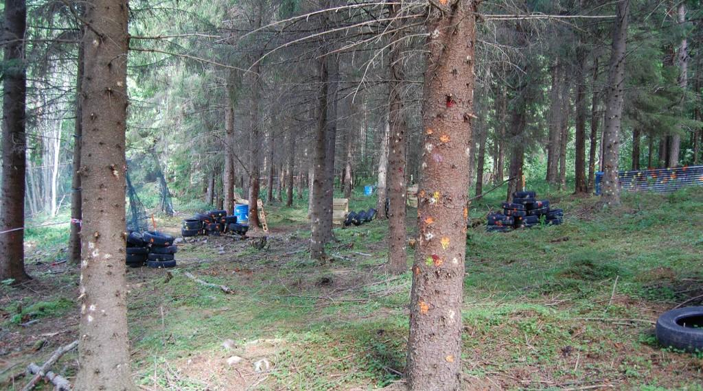 Пейнтбол Parikkalan Paintball